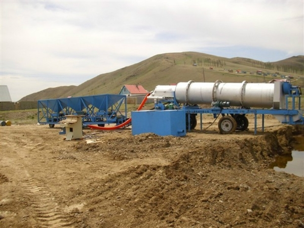 Technical parameters of GLB30 asphalt mixing plant